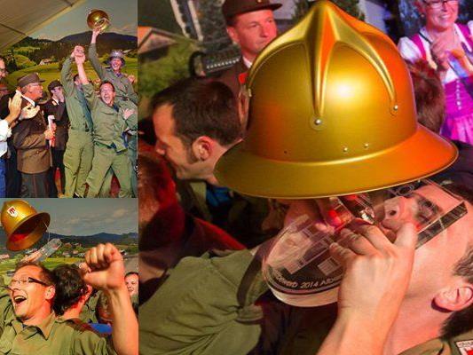 Die würdigen Sieger kommen von der Feuerwehr Silbertal.