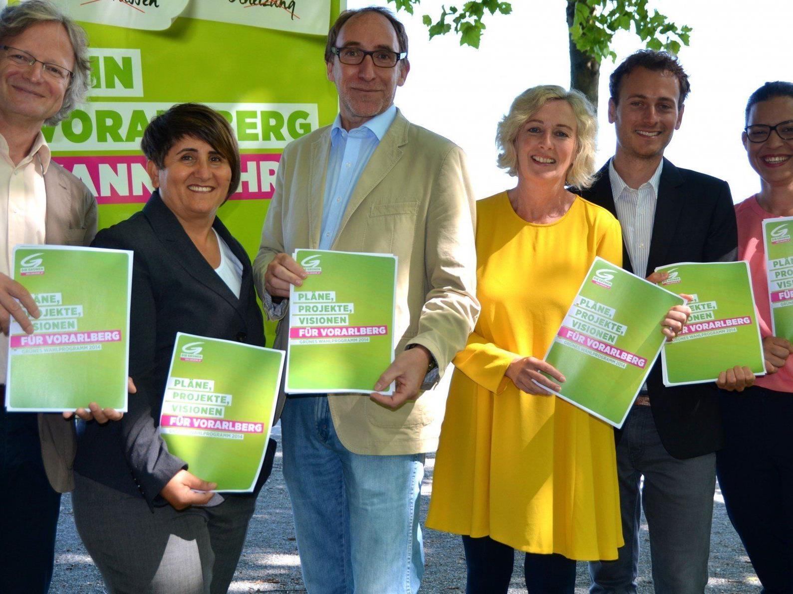 Wahlprogramm soll langfristiges Zukunftsprogramm sein - Wahlkampfbudget beträgt 344.000 Euro.