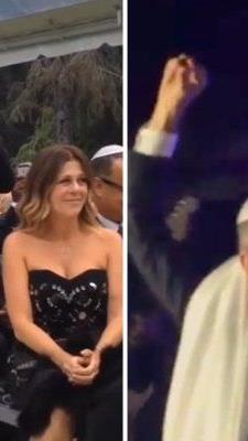 Hochkarätige Stars feierten mit den frisch Vermählten.