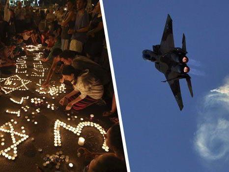 Nach dem Tot von drei entführten Schülern antwortet Israel mit massiven Luftangriffen..
