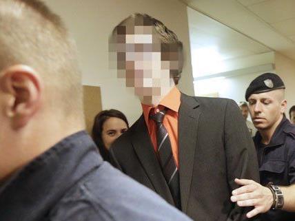 Josef S. am Montag vor dem Prozess in Wien.