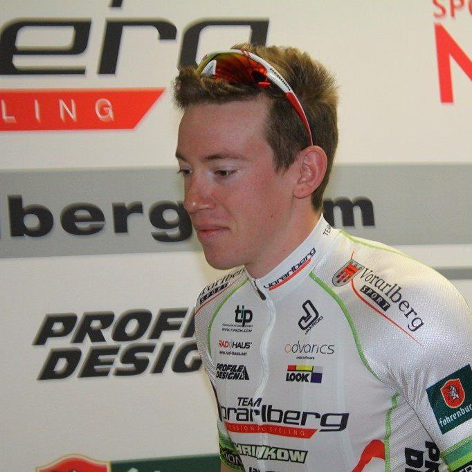 Fabian Schnaidt sprintet bei der zweiten Tour-Etappe auf den siebenten Rang.