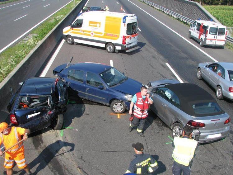 Schwere Unfälle am Samstag in NÖ.