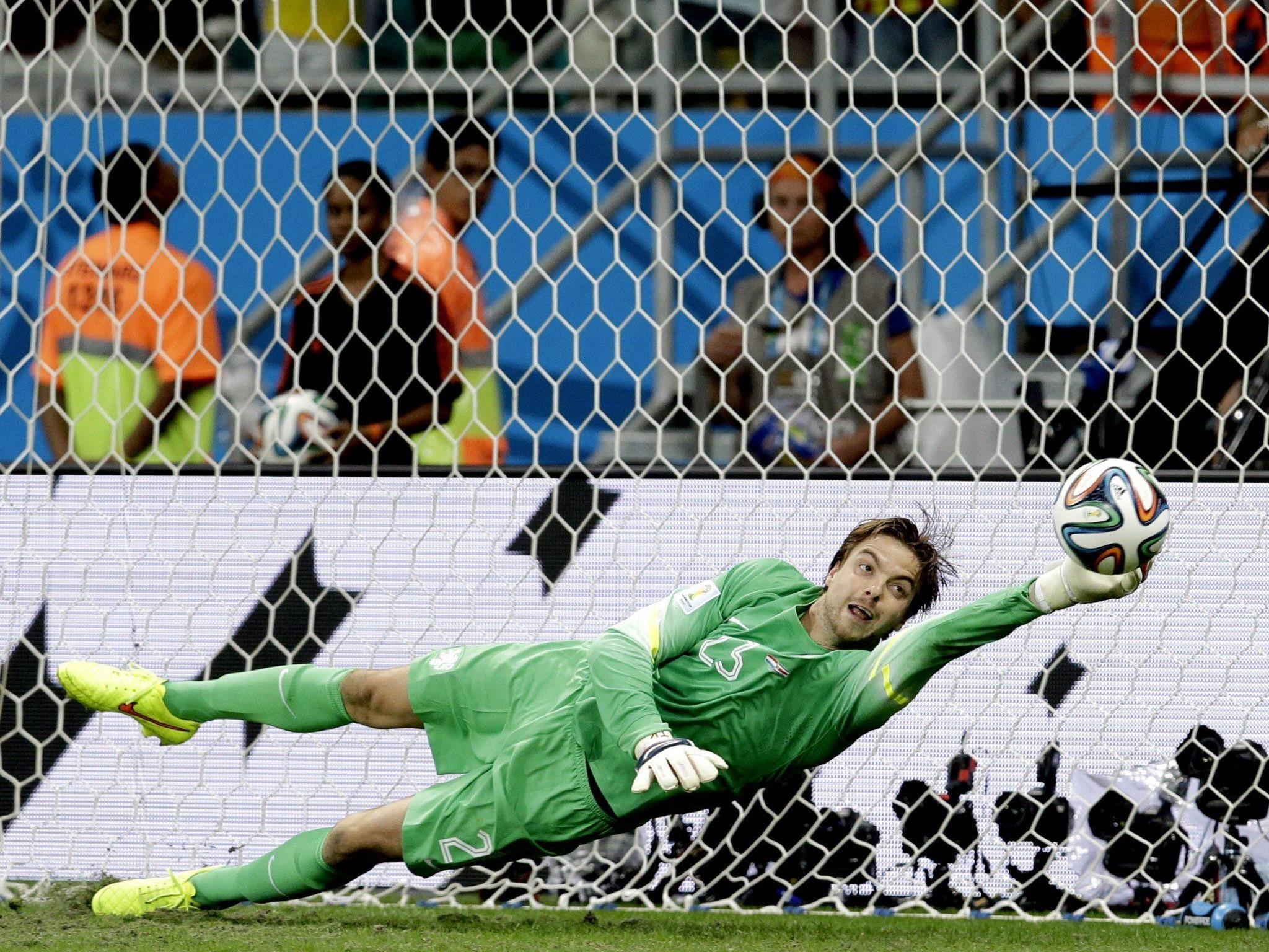 Psychotricks von Krul beim Elfmeterschießen gegen Costa Rica gingen vielen zu weit.