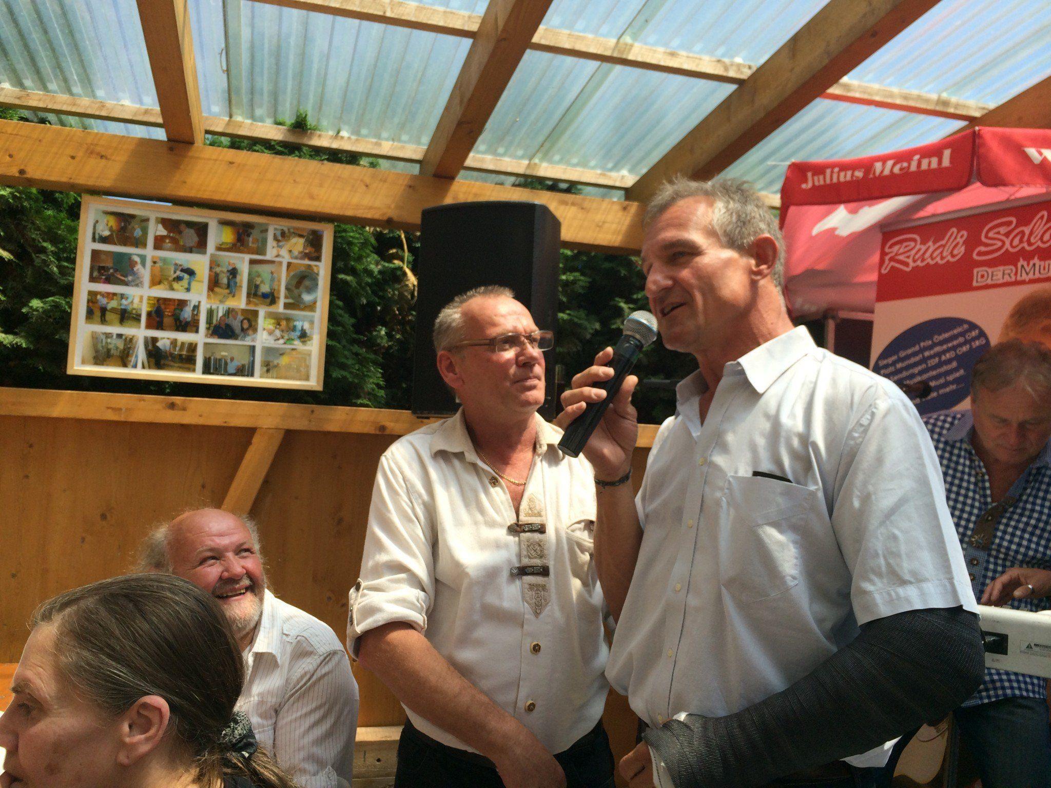 Sigi Dinhof und Markus Linhart.