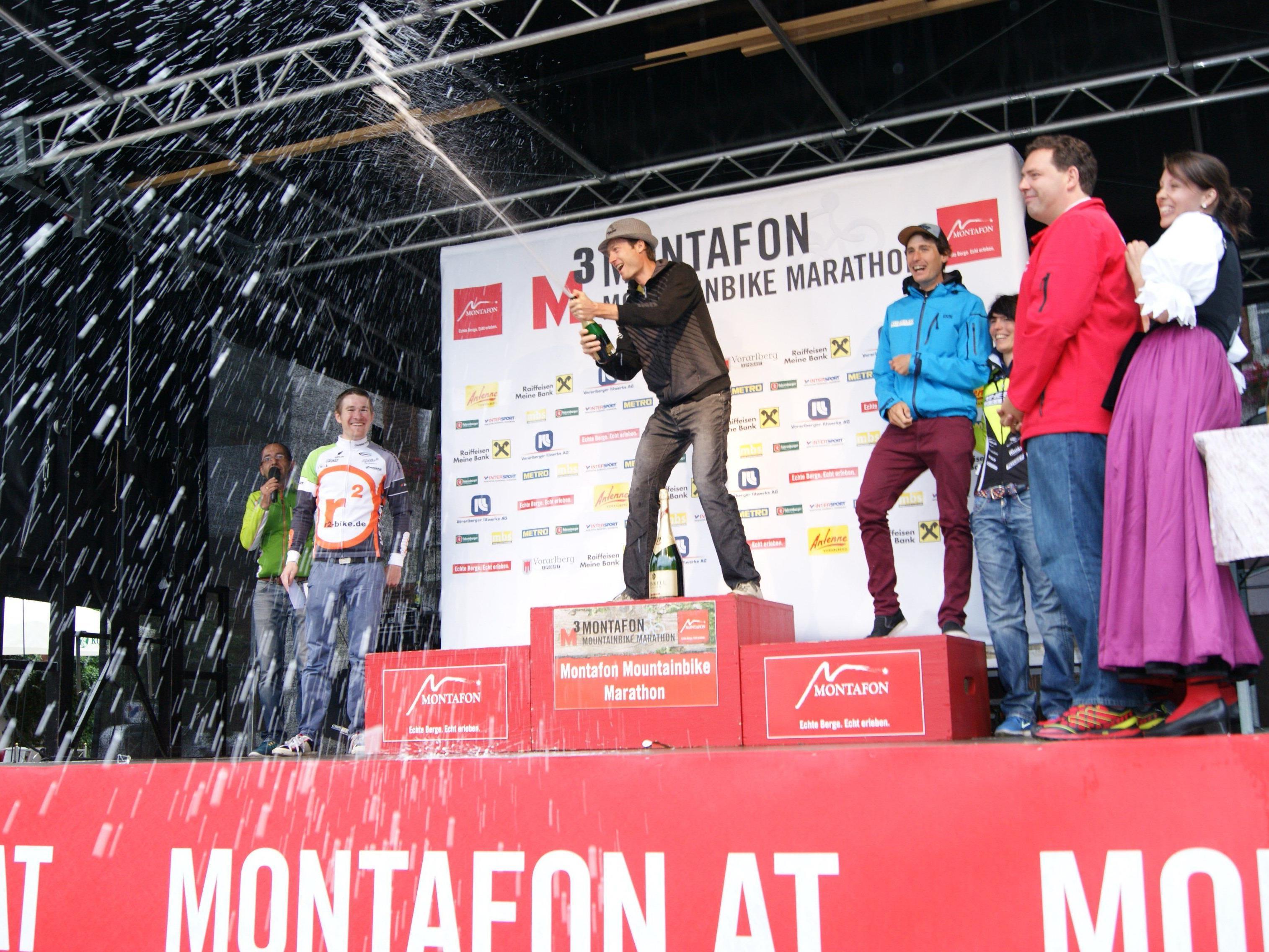 Preisverleihung - M3 Montafon MTB Marathon.