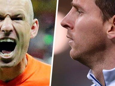 WM-Halbfinale: Niederlande gegen Argentinien oder Robben trifft auf Messi.