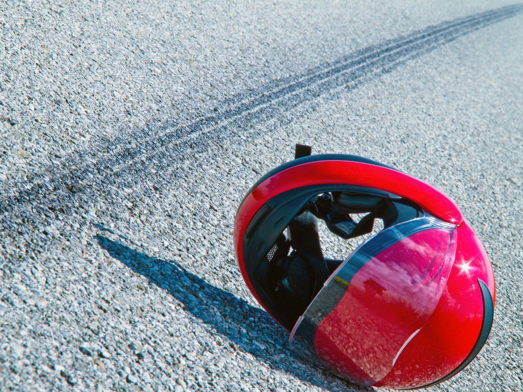 Motorradunfall in Schoppernau: 32-Jähriger schwer verletzt.