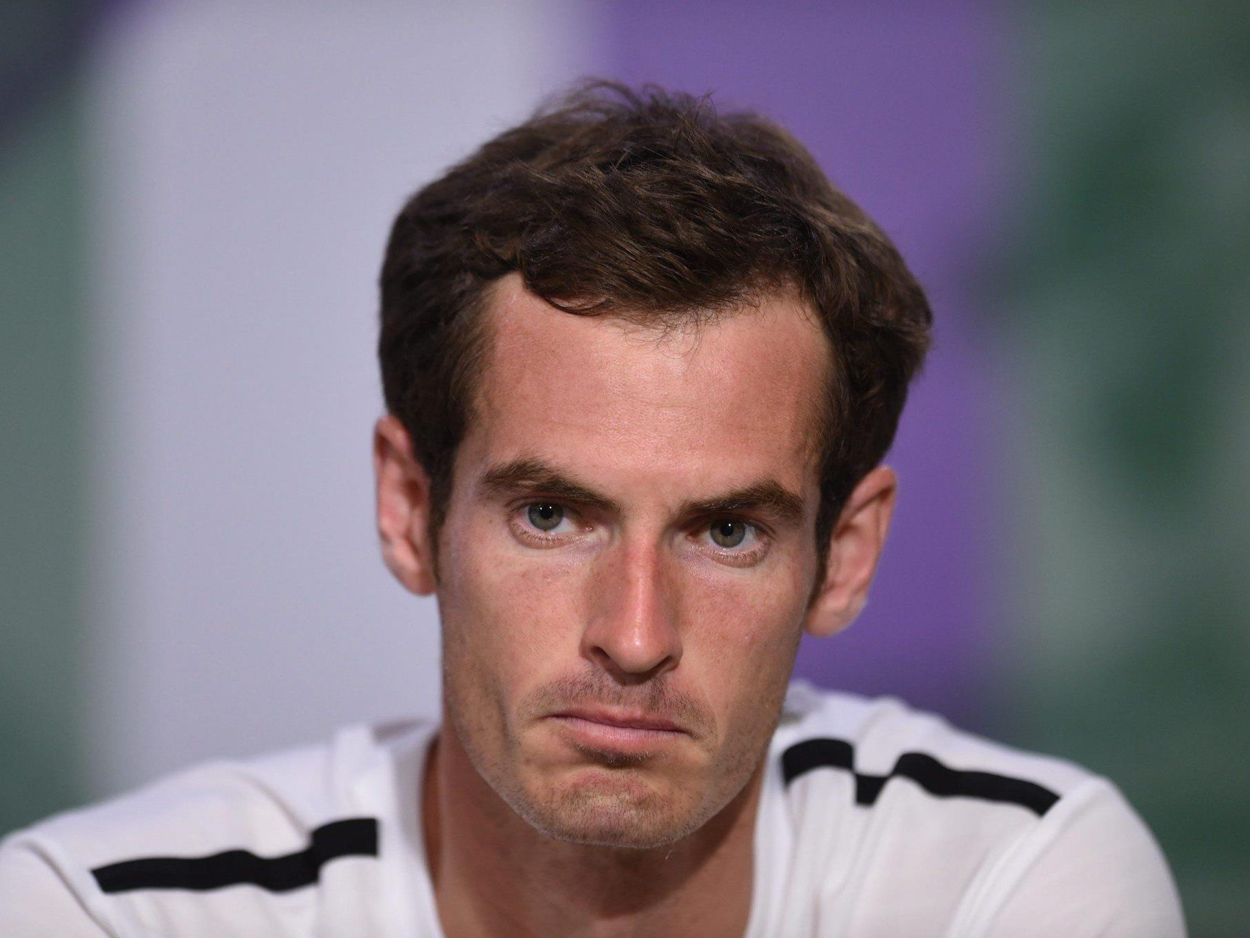 Endstation für Andy Murray in Wimbledon.