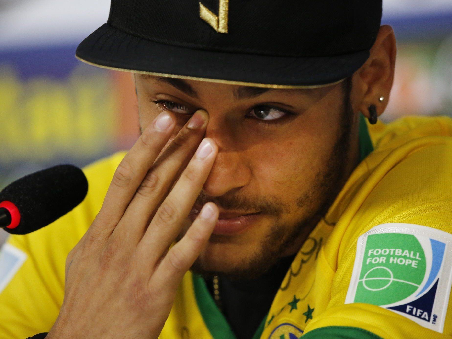 Neymar kann Zuniga brutales Foul nur schwer verzeihen