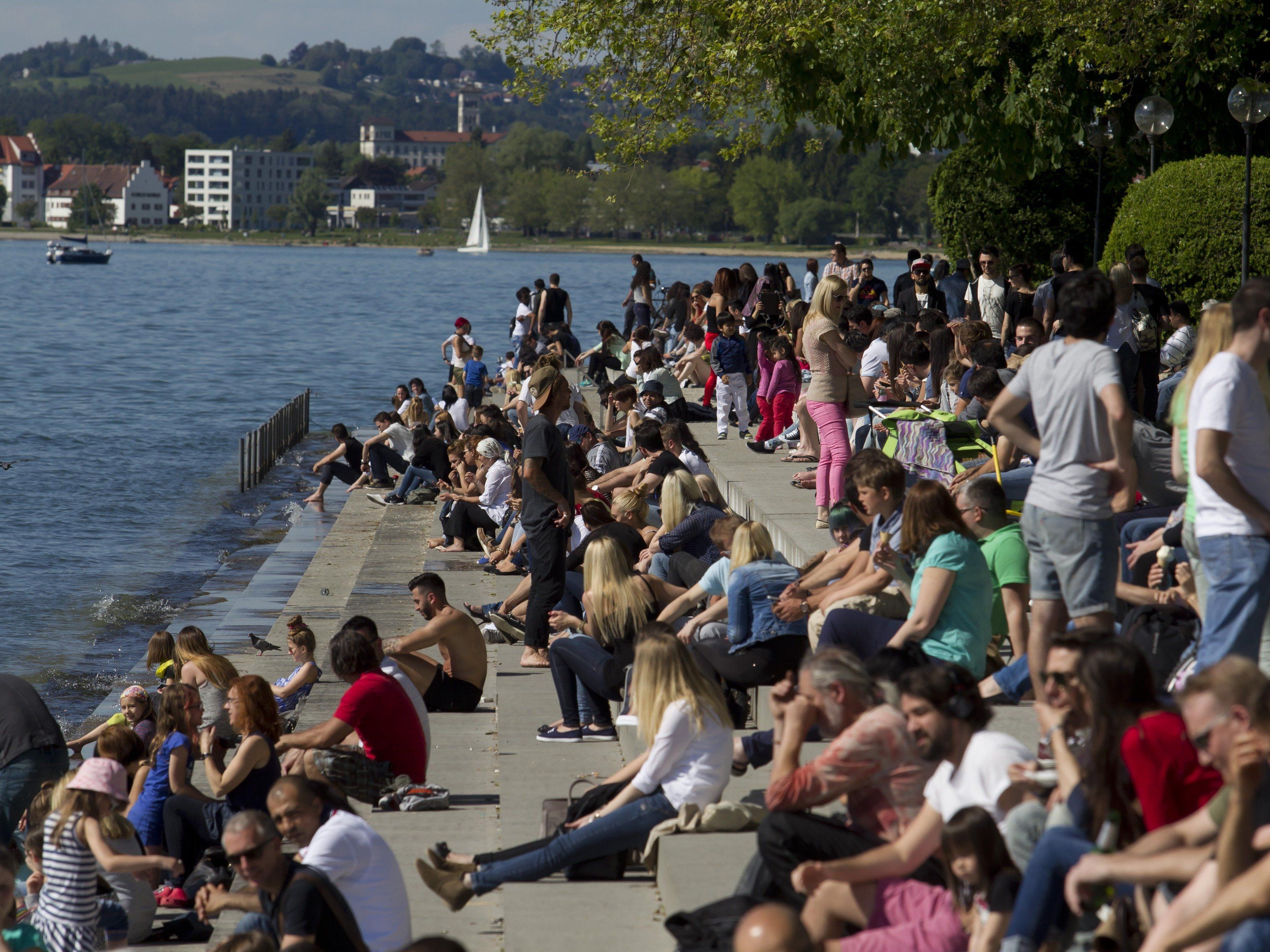 Aktuelle Statistik: Mit Ende Juni wurden in Vorarlberg 377.845 Einwohner gezählt.