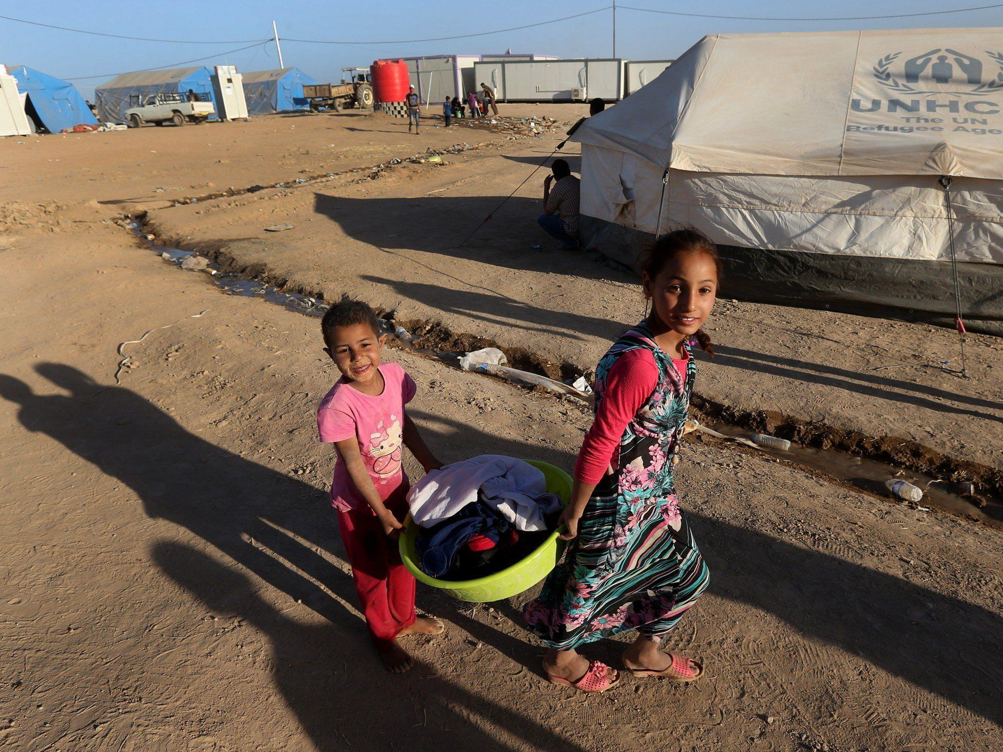 Deutschland bittet die EU mehr syrische Flüchtlinge aufzunehmen.