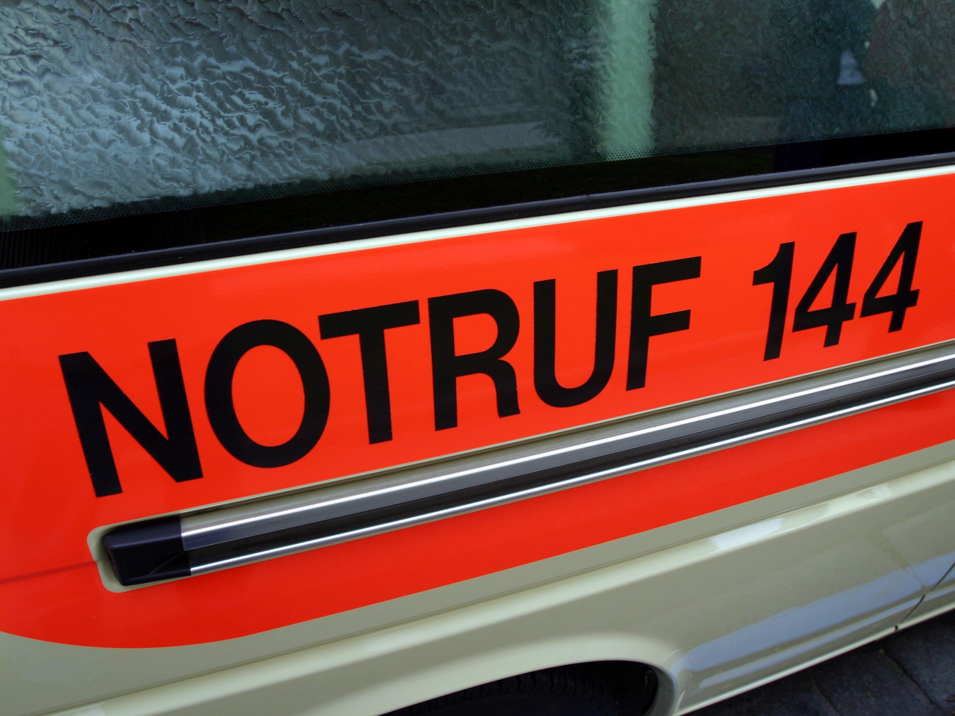 Fünfjährige wurde ins Landeskrankenhaus Bregenz eingeliefert.