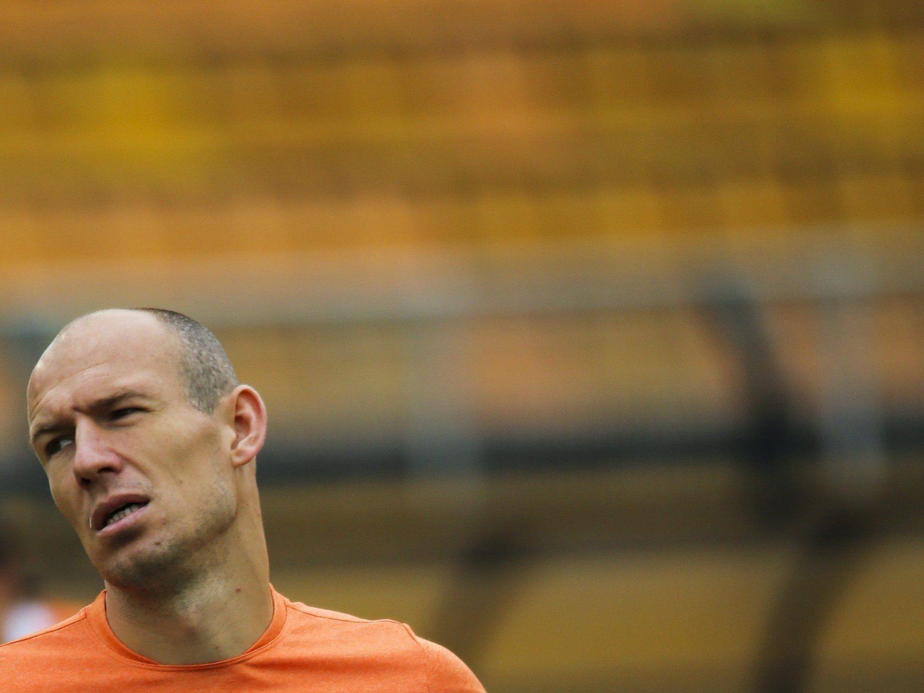 Robben-Frust über Halbfinal-Aus.