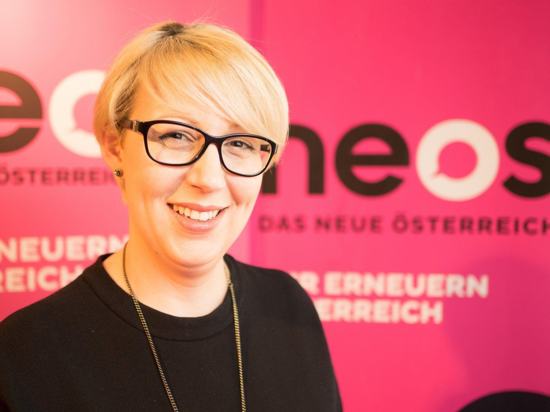 Landessprecherin Scheffknecht reicht Unterstützungserklärungen am Dienstag ein.