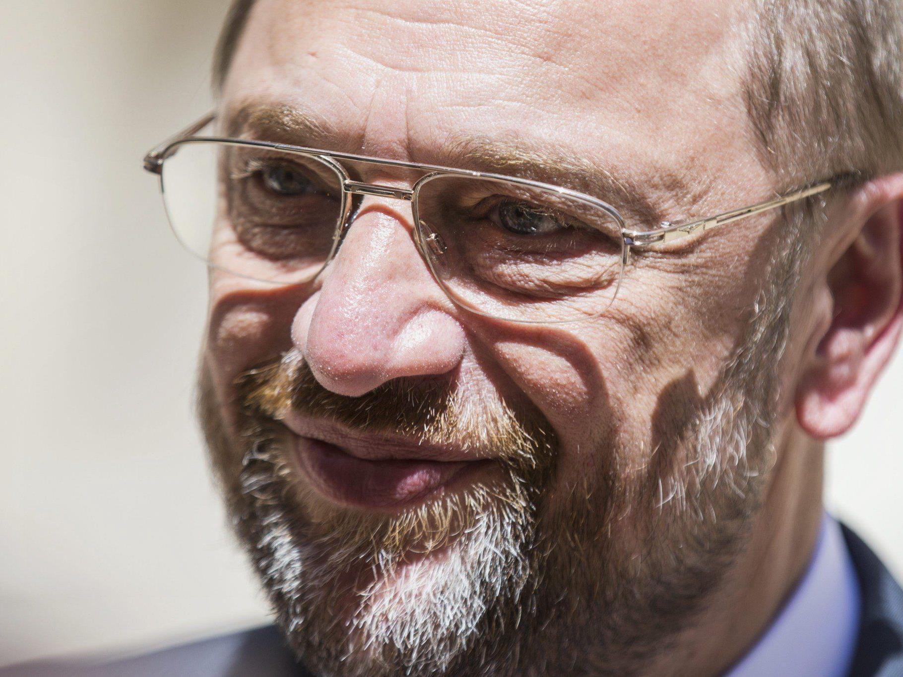 Martin Schulz ist der erste EU-Parlamentspräsident mit einer zweiten Amtszeit.