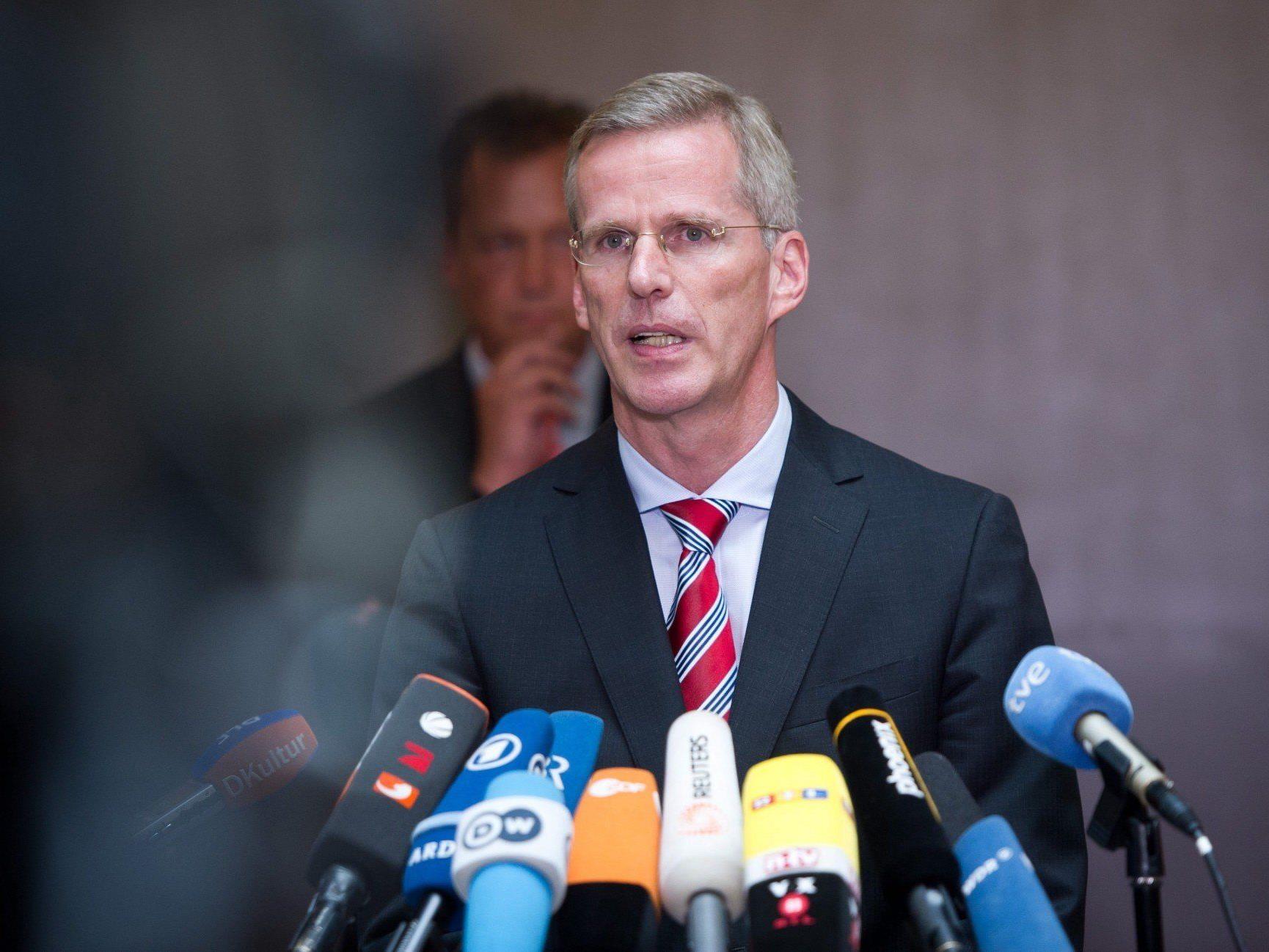 Spionageaffäre: Deutsche Regierung weist US-Geheimdienstler aus. Im Bild: Clemens Binninger.