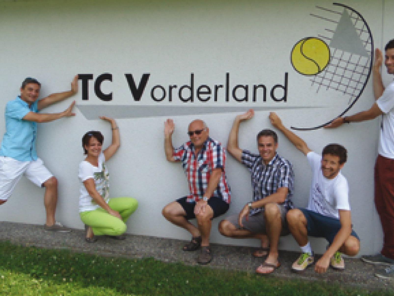 Der TC Vorderland feiert sein 40 jähriges Bestehen mit den Landesmeisterschaften.