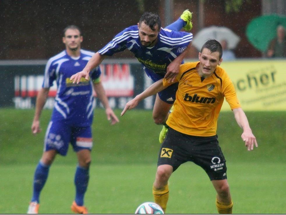 Fabian Koch vergab in der 70. Minute die große Chance zur Führung, Höchst und St. Johann blieb ohne Tore.