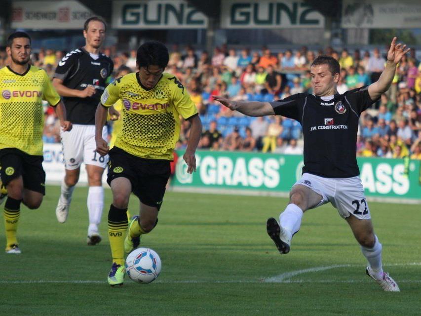 Borussia Dortmund gastiert bereits zum dritten Mal in Altach.