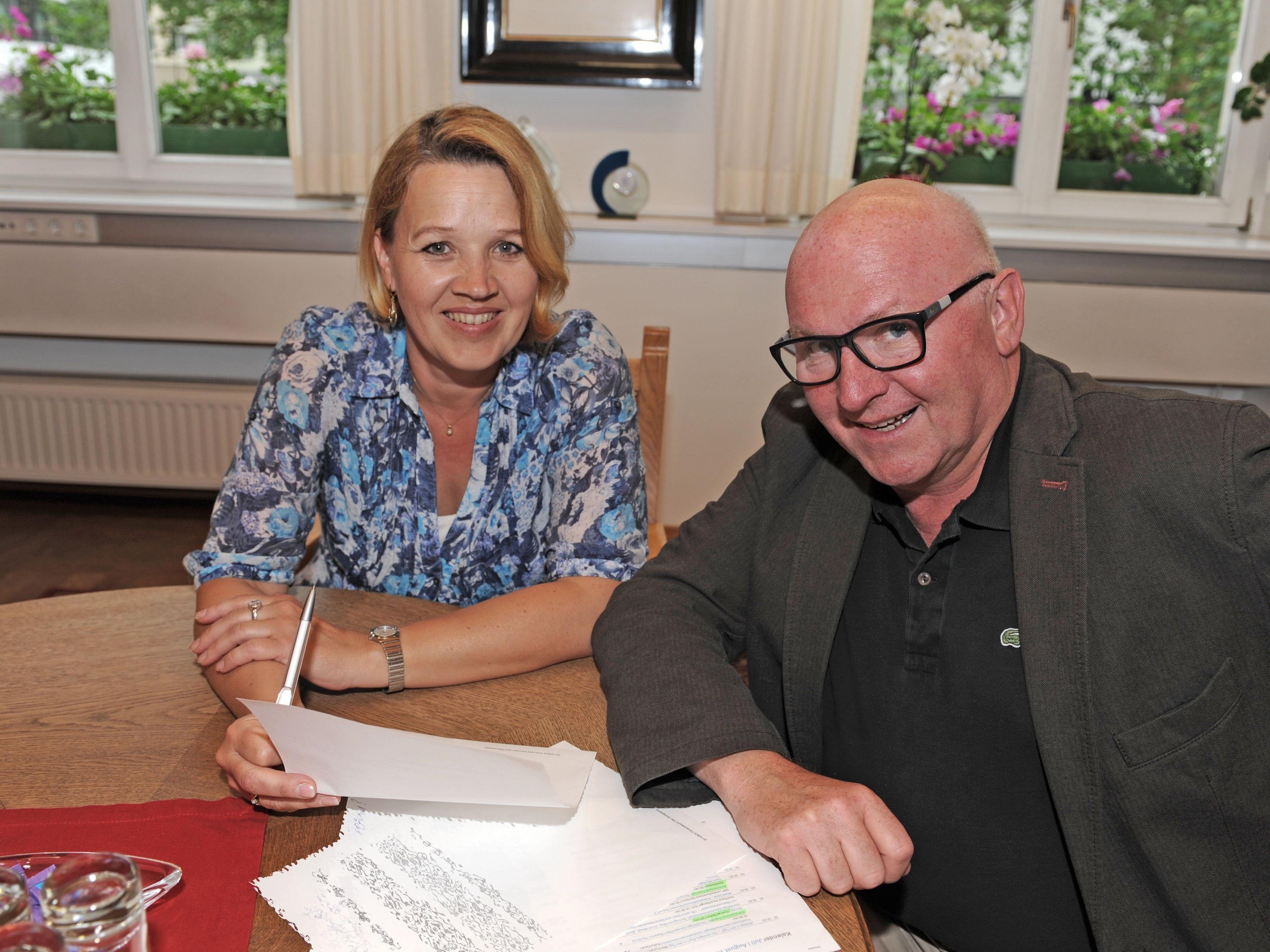 Andrea Kaufmann und Roland Jörg laden die Dornbirner Bevölkerung zur Mitarbeit an der Überarbeitung des Dornbirner Kulturleitbilds herzlich ein.