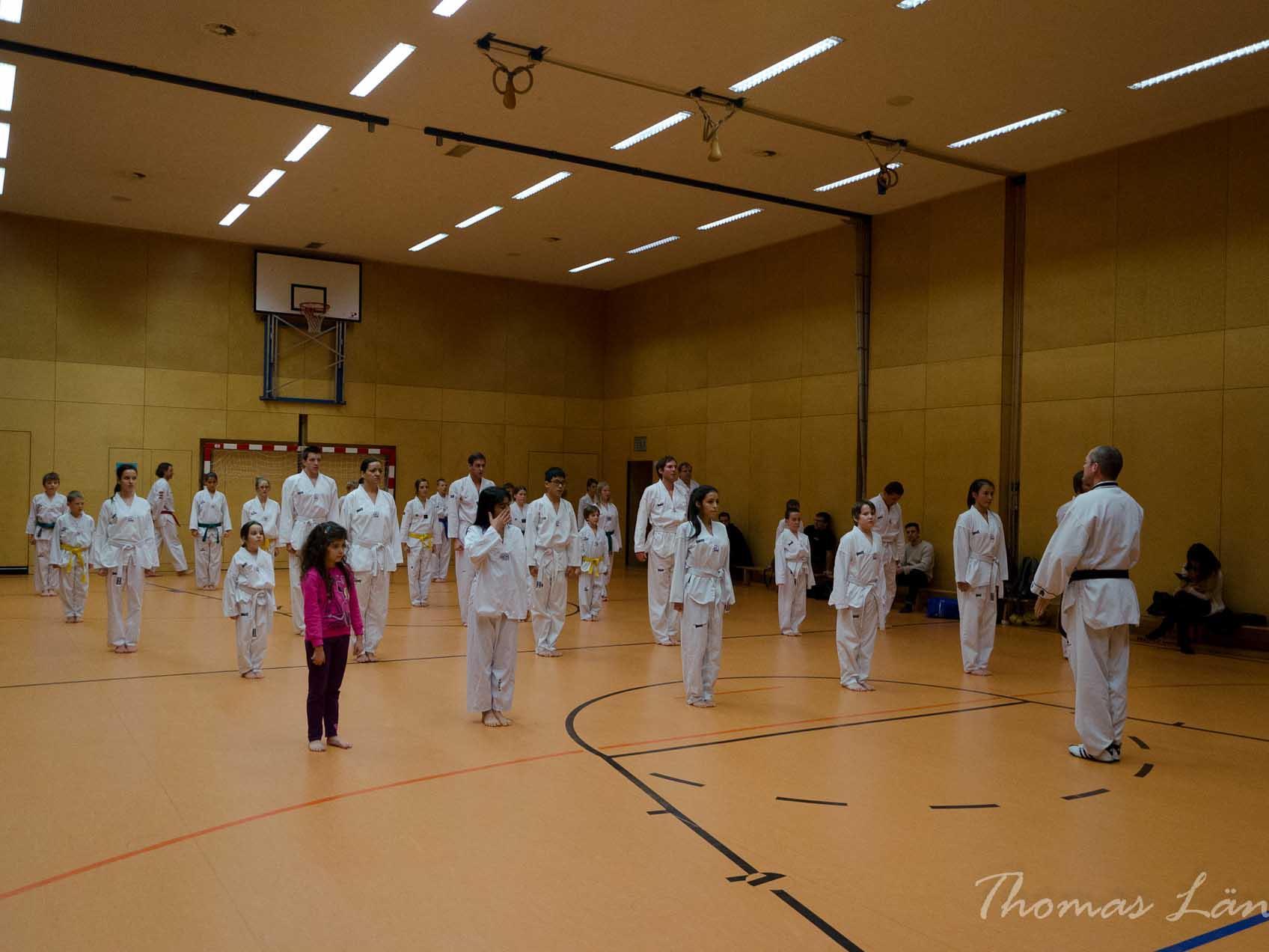 Training in der Halle