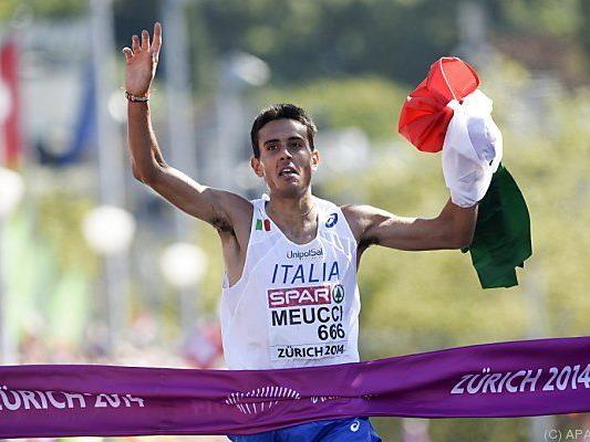 Daniele Meucci holt Gold in Zürich