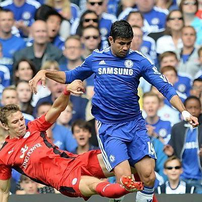 Wieder traf Chelsea-Neuerwerbung Diego Costa