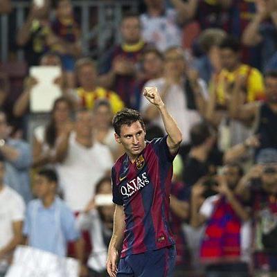 Lionel Messi schon wieder in Torlaune