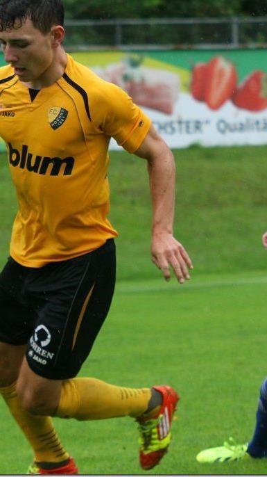 Höchst Neuzugang Julian Mair hofft auf den ersten Saisonsieg.