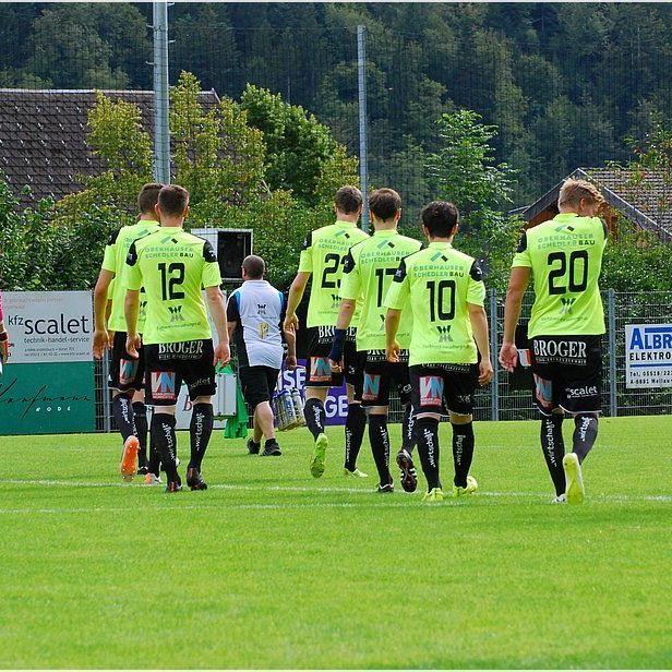 Meisterschaftsspiel Kaufmann Bausysteme FC Bizau gegen WSG Wattens