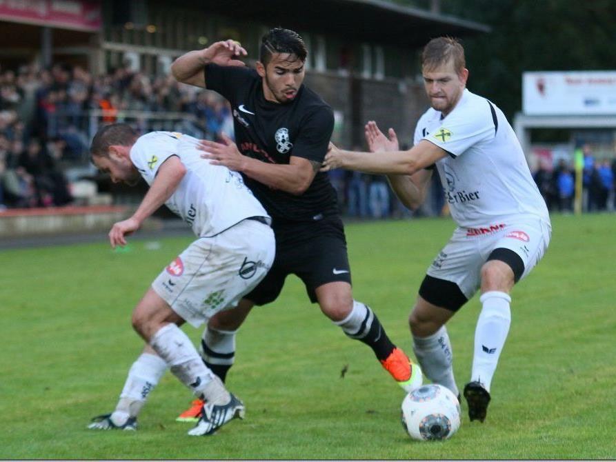 Egg und Bregenz teilten sich in einer Klassepartie die Punkte. 1000 Zuschauer in der Junkerau sahen vier Tore.