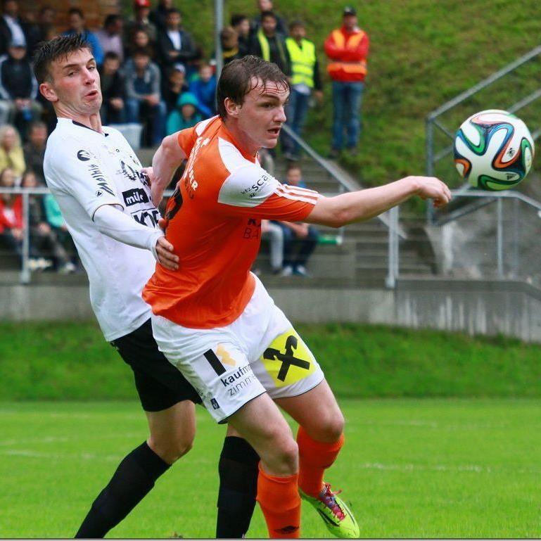 Pius Simma traf im Heimspiel gegen Wacker Innsbruck Amateure nach drei Minuten ins Schwarze.