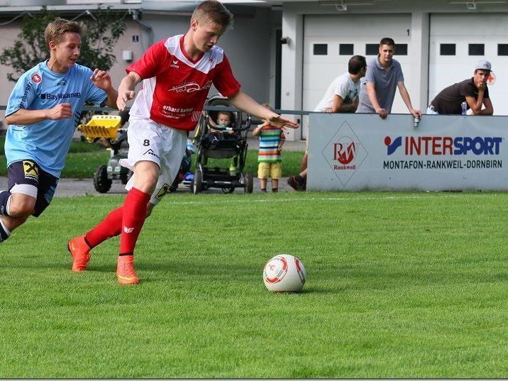 RW Rankweil 1b gewinnt in Bremenmahd trotz einem 0:1-Rückstand.
