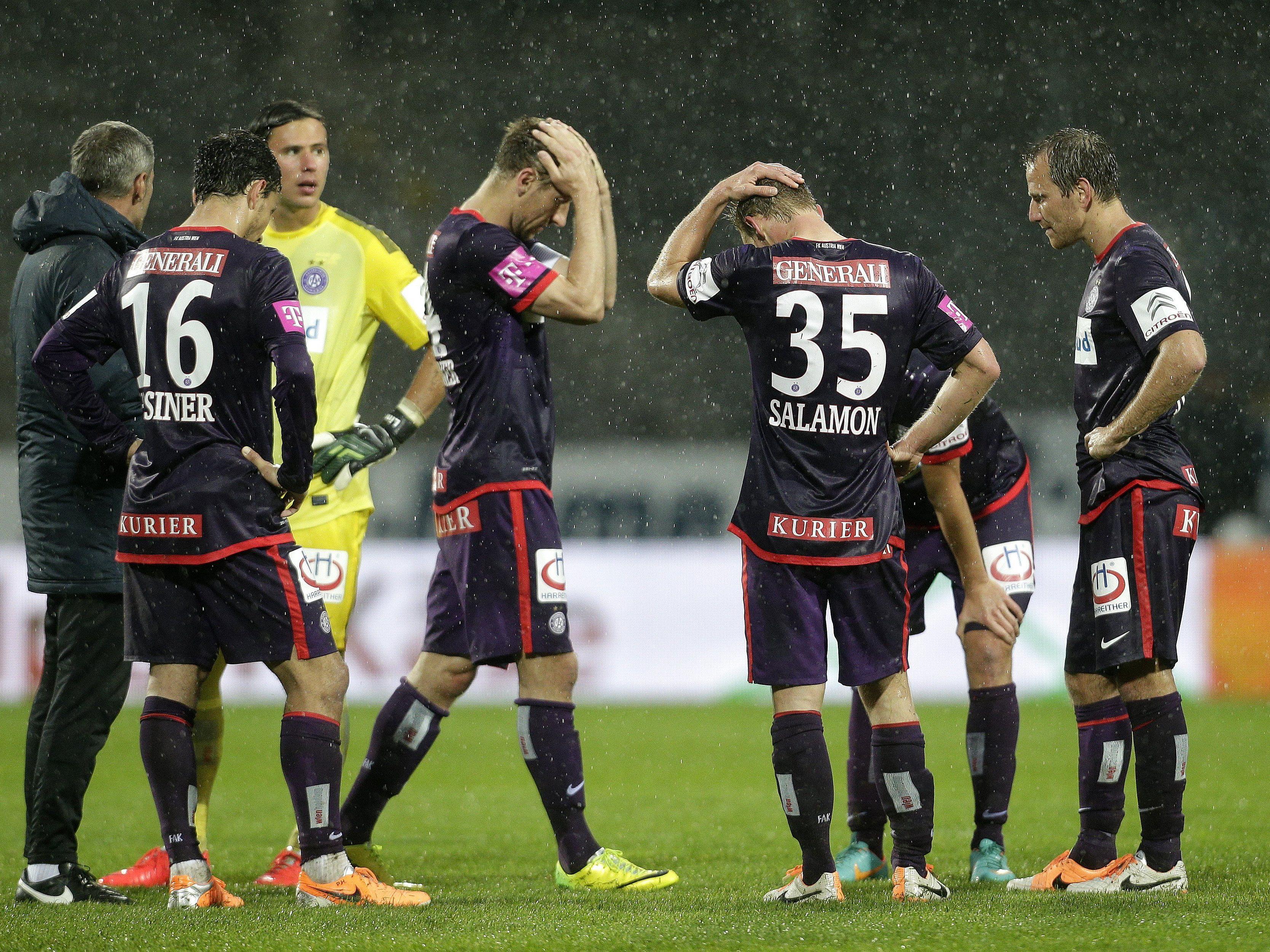 LIVE-Ticker zum Spiel SK Sturm Graz gegen FK Austria Wien ab 16.30 Uhr.