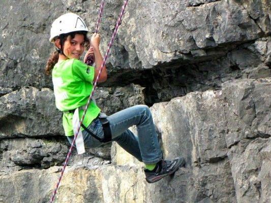 Das aqua-Kletterfest ist stets ein Höhepunkt besonders für Kinder und Jugendliche und findet heuer zum zehnten Mal statt.