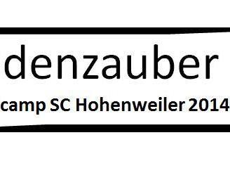 SC Hohenweiler - Nachwuchsfussballcamp