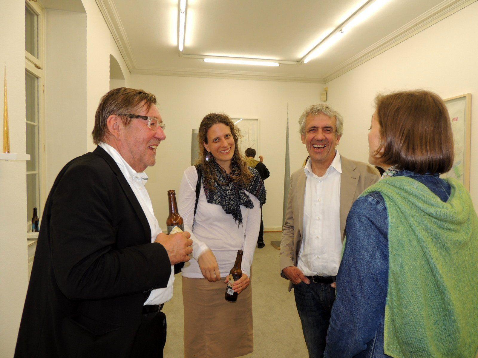 Künstler und Bildhauer Gottfried Bechtold ist einer der 19 ausstellenden Kunstschaffenden