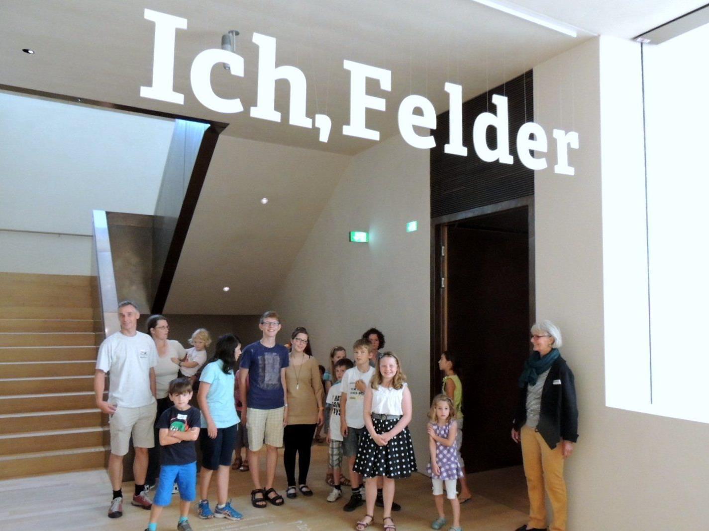 Hausführung zur Franz Michael Felder Ausstellung