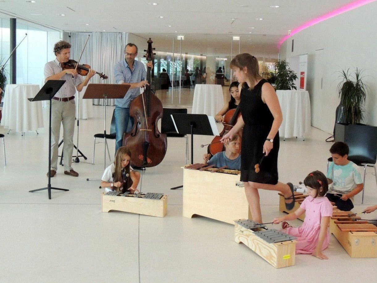 Das gemeinsame Musizieren bereitete allen viel Freude