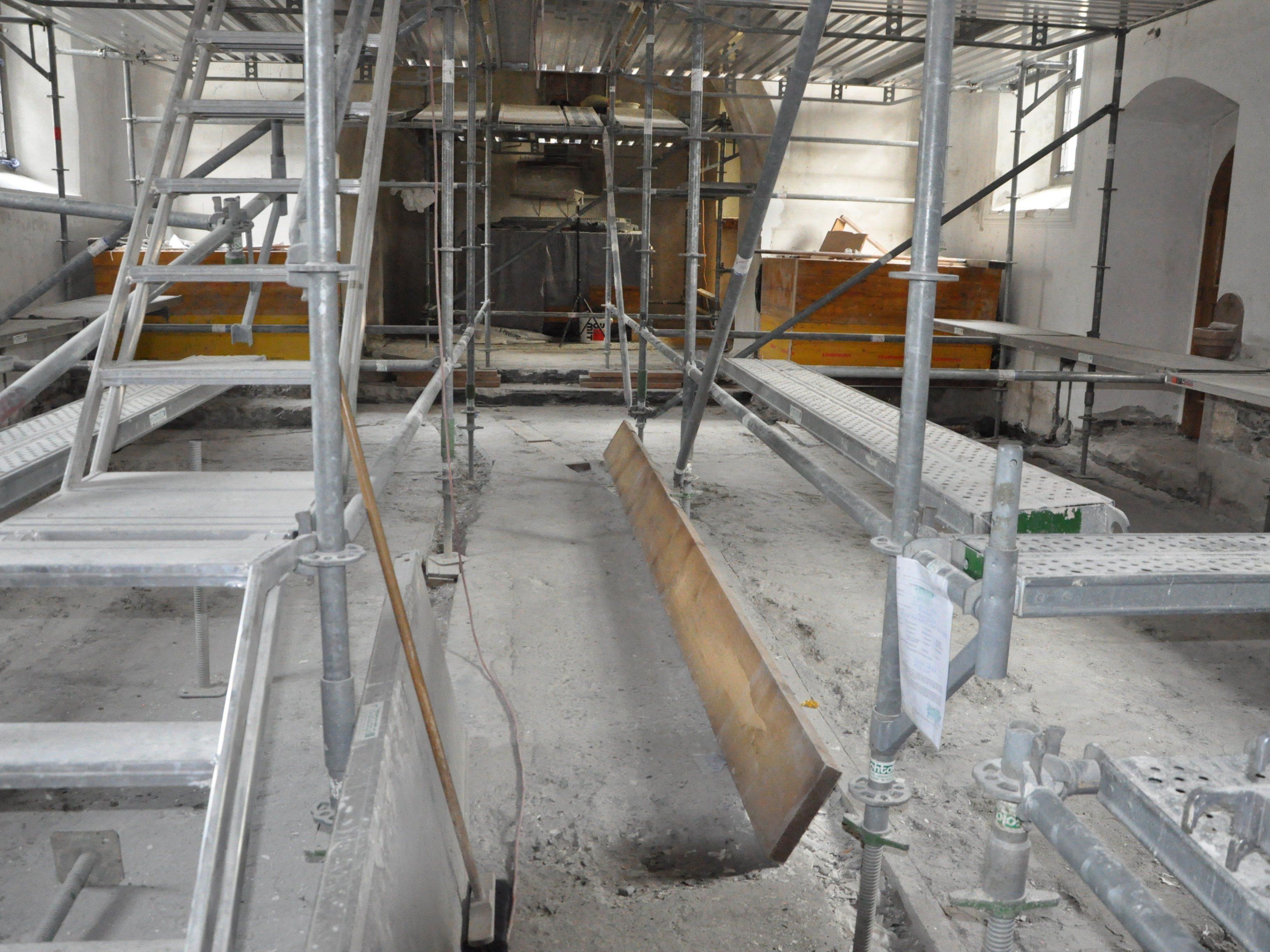 Archiologische Grabungen in der Rankweiler St. Peter Kirche