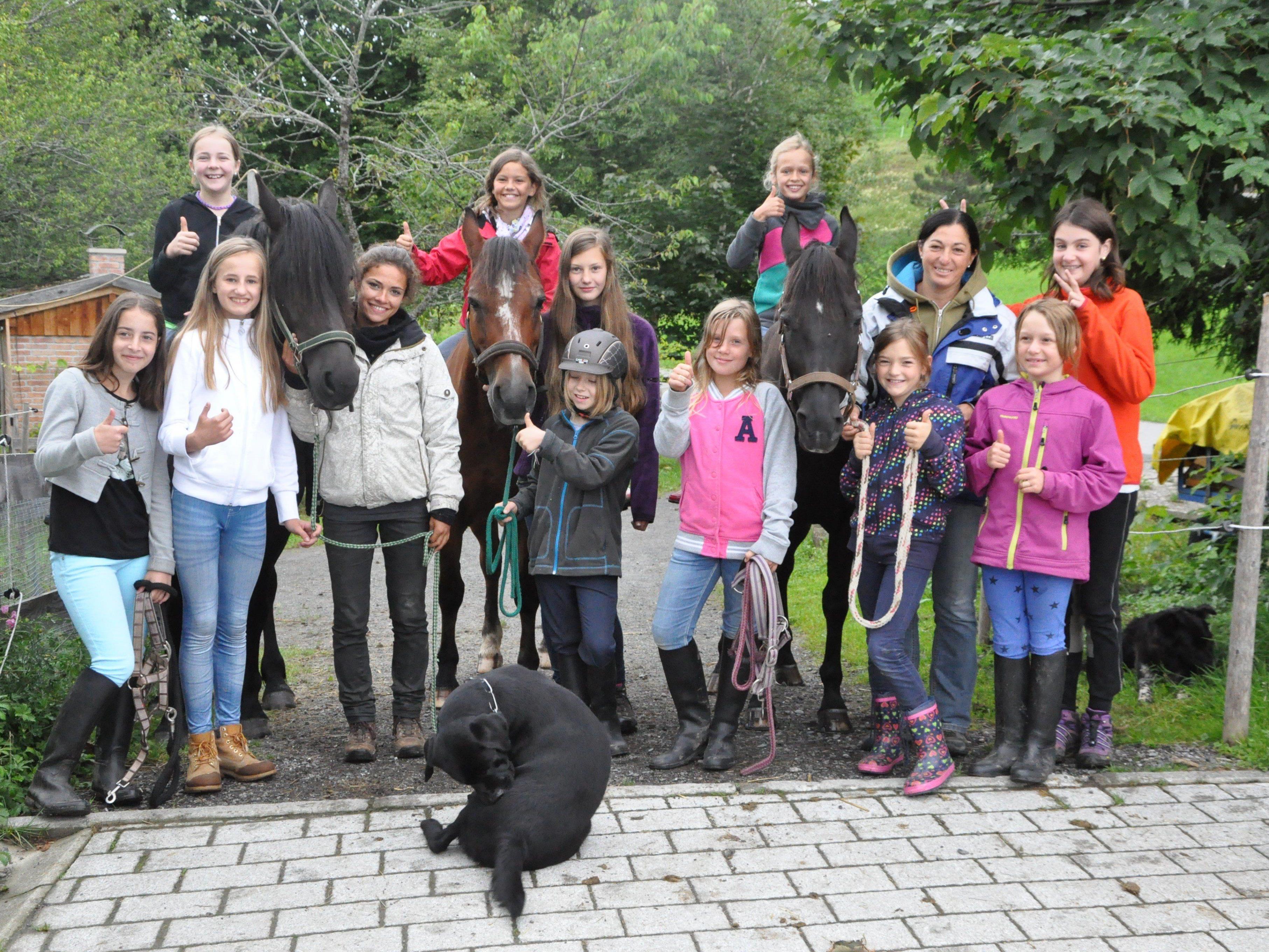 Viel Action und Spaß für die Kinder bei den Erlebniswochen am Trekkinghof Furx