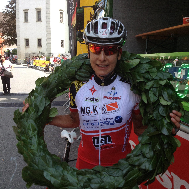 Dritter Streich und neuer Streckenrekord der Italienerin Marina Ilmer beim Highlander.