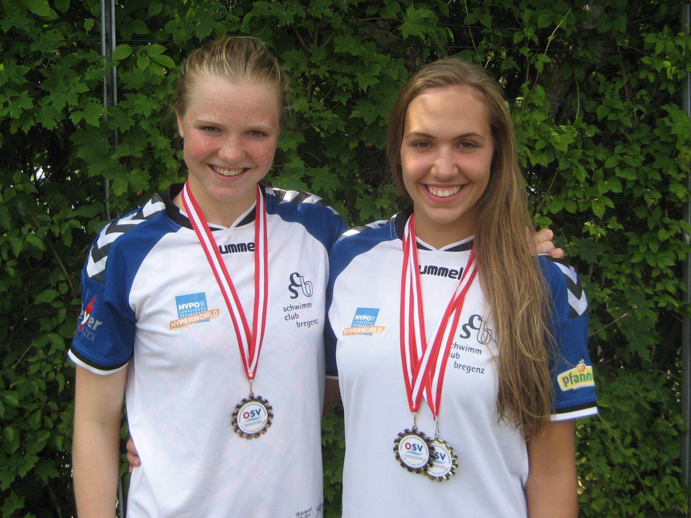 Johanna Wimmer und Celina Lutter