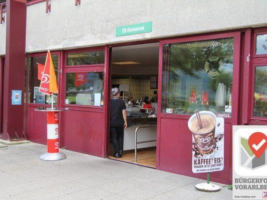 Das Angebot des SB-Restaurants im Freibad ist vom Wetter abhängig.