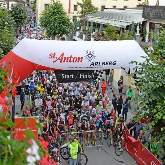 1400 (!) Starter beim Arlberg Giro sorgten für eine spezielle Atmosphäre.