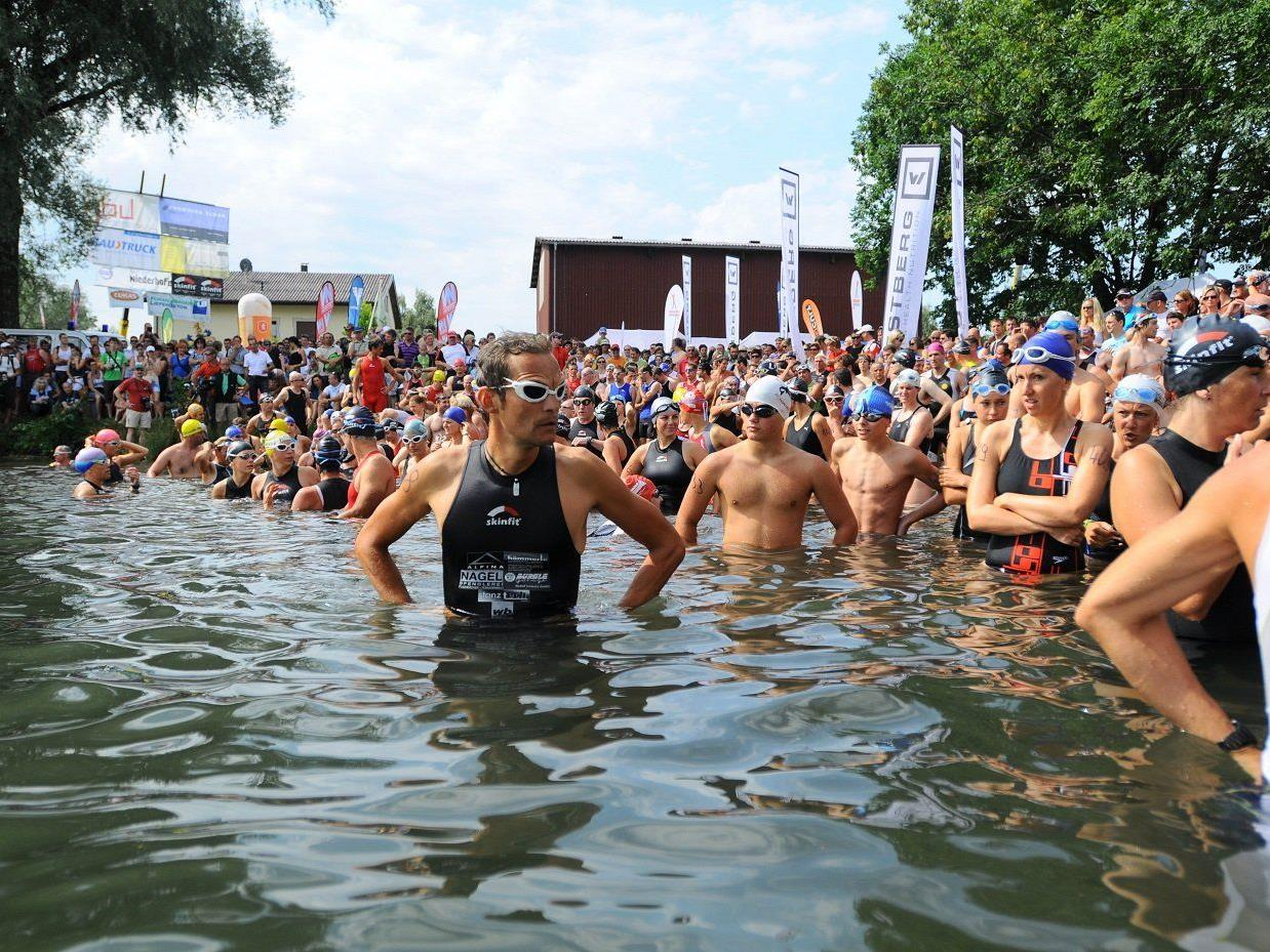Am Samstag steigt der Jannersee Triathlon in Lauterach.