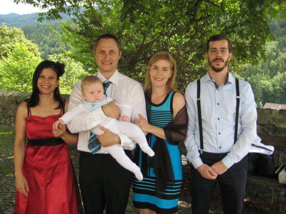 Kilian Felix Angerer wurde getauft.