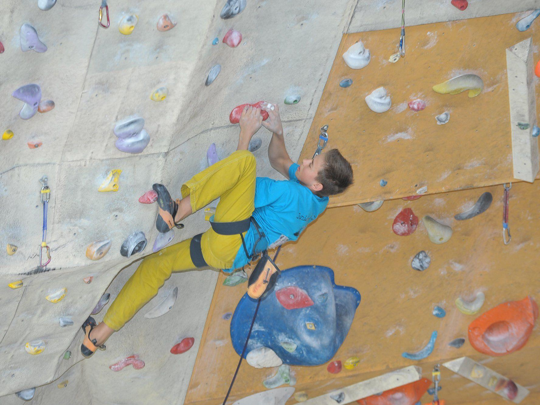 Der Dornbirner Laurin Meusburger belegte den guten fünften Endrang.