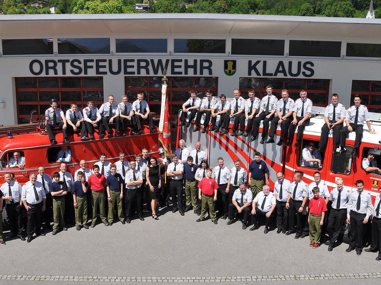 Die Ortsfeuerwehr Klaus lädt zum Jubiläumsfest am 6. September ein.